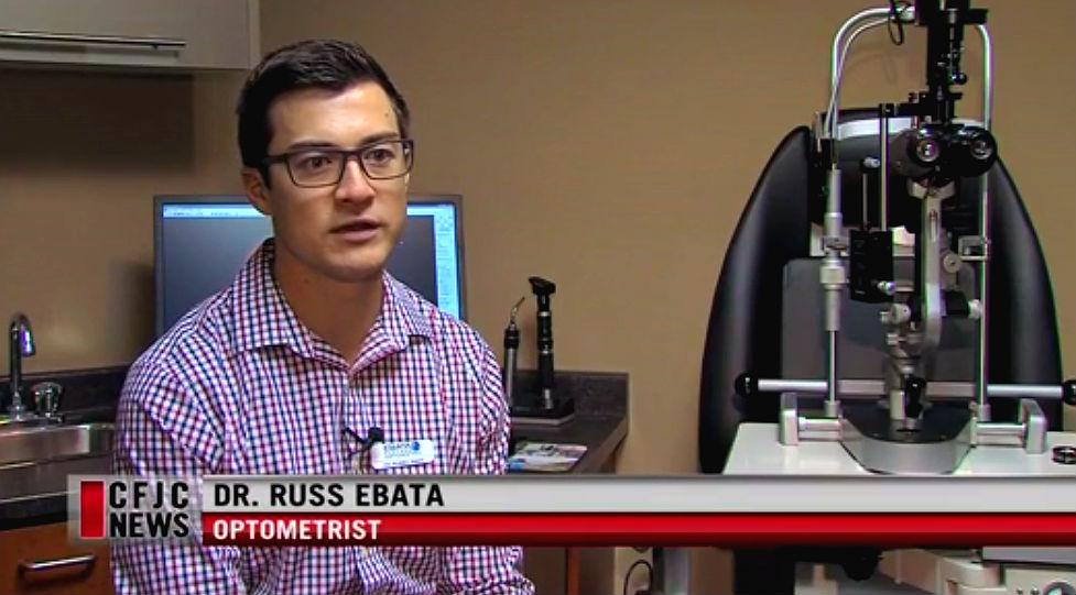 News Interview with Dr. Russ Ebata